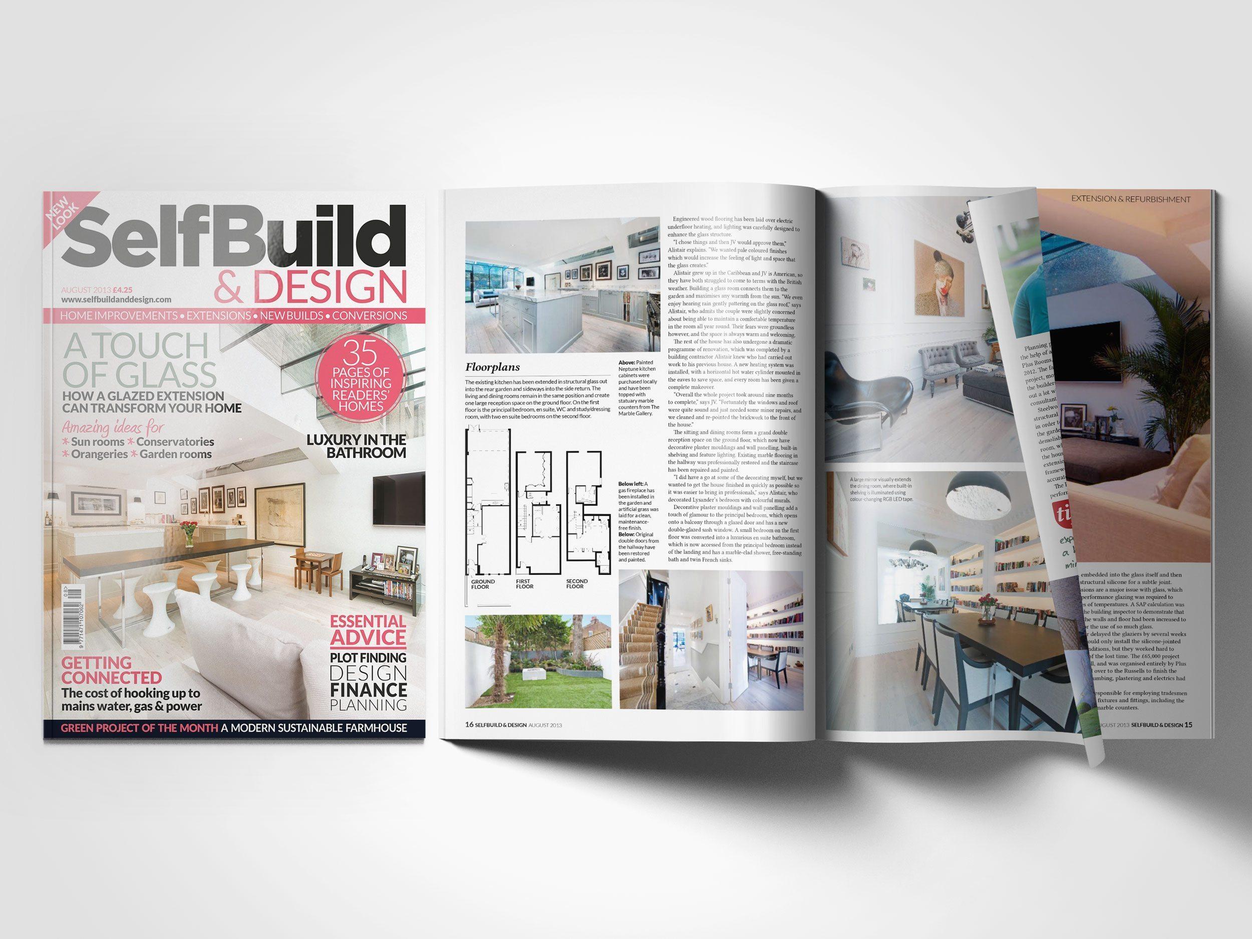 Self Build & Design August 2013