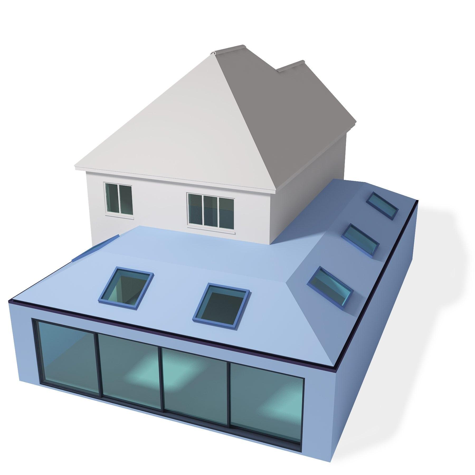 Large Wraparound Extension Plus Rooms
