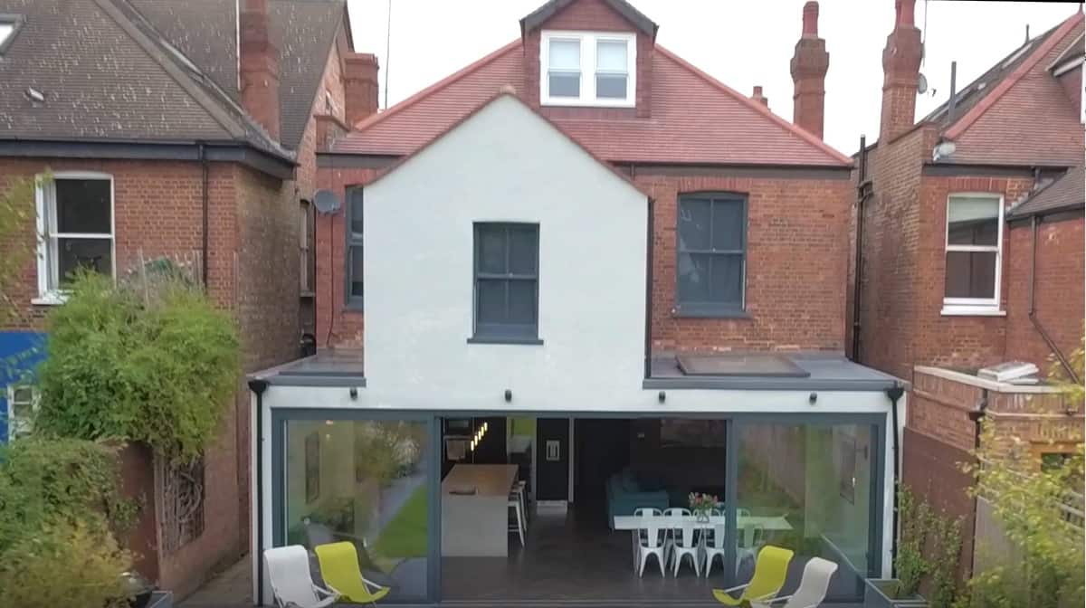 Large kitchen extension & loft conversion in this Haringey home
