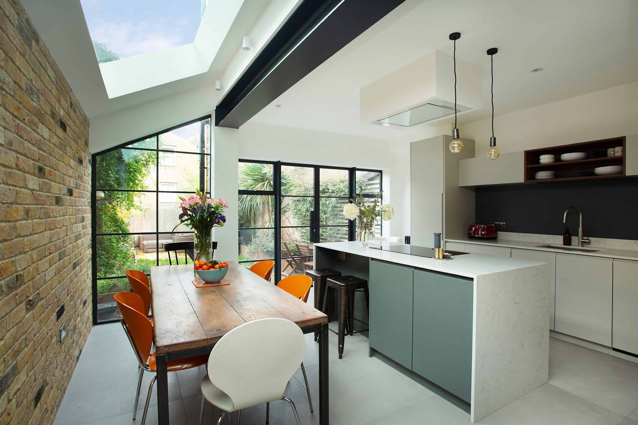 Side return kitchen extensions: Design ideas