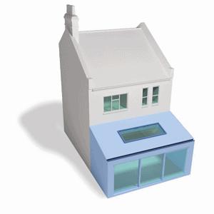 Terraced - Flat Back